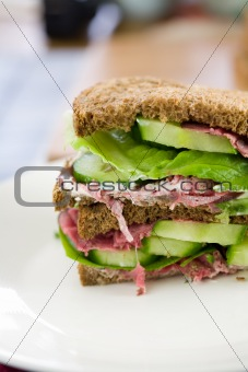 Healthy sandwich