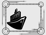 ship transport icon