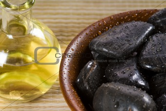Oil and stones