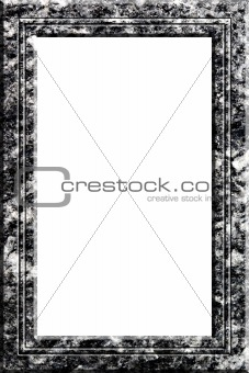 Granite portrait frame