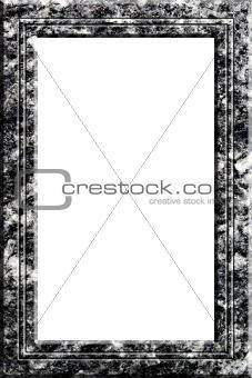 Granite portrait frame