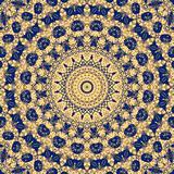 Maya geometrical fantasy - blue yellow