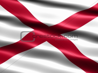Flag of the state of Alabama