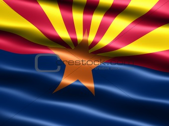 Flag of the state of Arizona