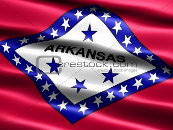 Flag of the state of Arkansas