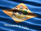 Flag of the state of Delaware