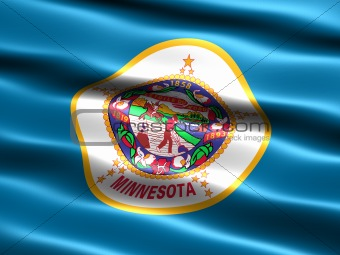 Flag of the state of Minnesota