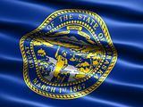 Flag of the state of Nebraska