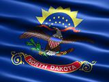 Flag of the state of North Dakota