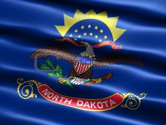 Flag of the state of North Dakota