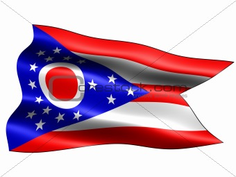 Flag of the state of Ohio