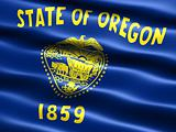 Flag of the state of Oregon