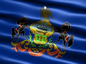 Flag of the state of Pennsylvania