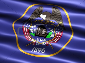 Flag of the state of Utah