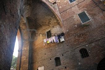 Town gate Siena