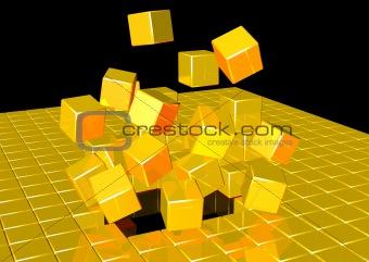 Cubic explosion