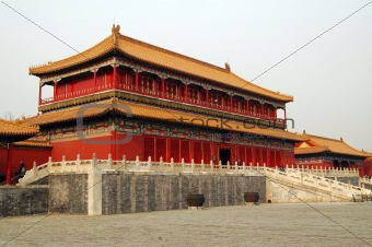 Palace in The Forbidden City,