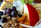 Fruit, Nuts, and Cheese