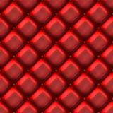 Red leather couch material