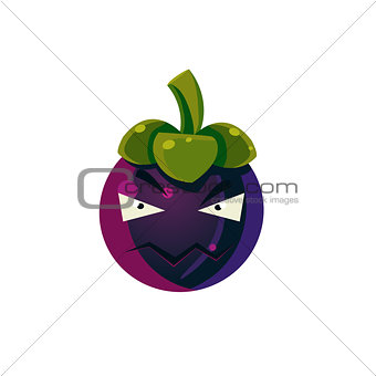 Angry Passion Fruit Emoji