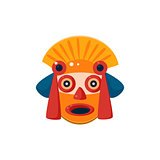 Traditional Mayan Mask