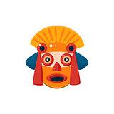 Traditional Mayan Mask