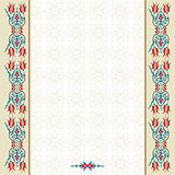 Antique ottoman turkish pattern vector design ninety two