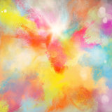 Colourful burst