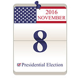Calendar of Presidential Election 2016