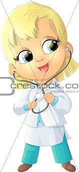 beautiful figure nurse