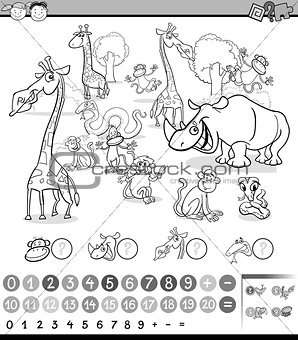 calculating animals activity