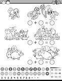 calculate game for coloring