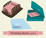 Print icons set2.