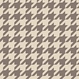 Houndstooth seamless vector pastel brown pattern