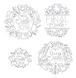 Sale monograms white