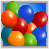 Colourful balloons 3D Panel