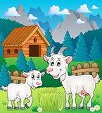 Goat theme image 3