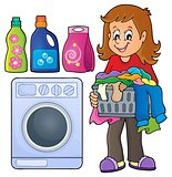 Laundry theme image 1
