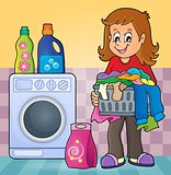 Laundry theme image 2