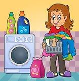 Laundry theme image 2