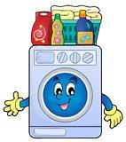 Washing machine theme image 2