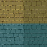Seamless texture slate roof. Vector illustration. Architecture pattern