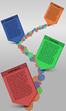 Timeline infographic, Timeline infographics, bubble infographic with squared text ribbons, business steps