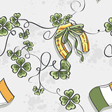 Seamless texture for St. Patricks Day