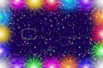 Firework, Holiday Background