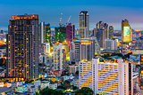 Bangkok Financial District Cityscape