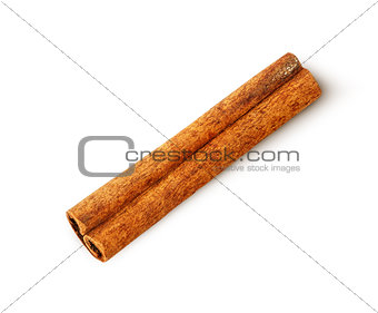 Single cinnamon sticks