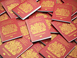 UK British passports for United Kingdom of Great Britain and Nor