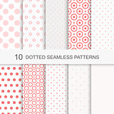 Seamless patterns with dots