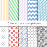 Modern coloful patterns